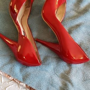 Steve Madden Shoes - Red patent leather shoes